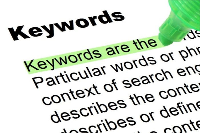 Keyword audit