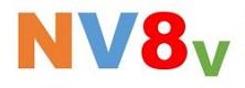 NV8v logo