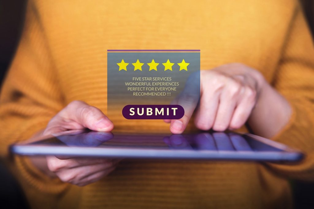 manage customer reviews